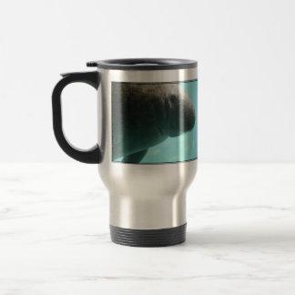 Adorable Manatee Swimming Coffee Mug