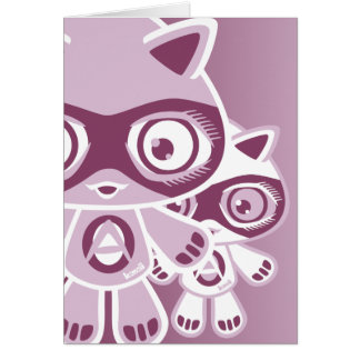 Adorable Mascot Greeting Cards