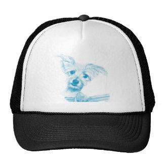 Adorable Mixed Terrier by artist Carol Zeock Trucker Hat