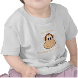 Adorable monkey toddler tshirt