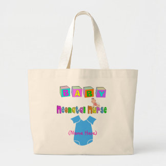 Adorable Neonatal Nurse Gifts Large Tote Bag