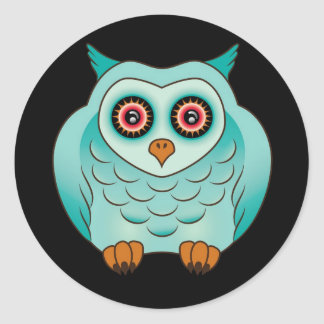 Adorable Nightstalker Owl Sticker
