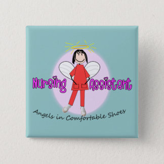 Adorable Nursing Assistant Gifts Pinback Button