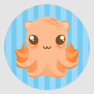 Adorable Octopus - Cute Kawaii Stickers