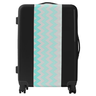 Adorable Ombre, Zigzag ,Chevron Pattern Luggage