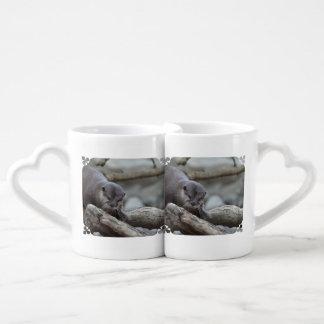 Adorable Otter Coffee Mug Set