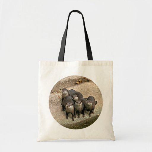 Adorable Otter Family Bags