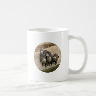 Adorable Otter Family Coffee Mug