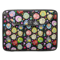 Adorable Owls and Flowers Design Sleeve For MacBook Pro