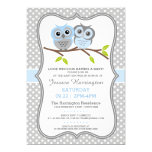 Adorable Owls Baby Shower Cards