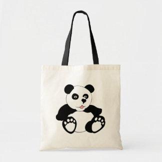 Adorable Panda Budget Tote Bag