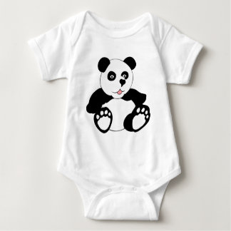 Adorable Panda Infant Creeper