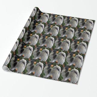 Adorable Papillion Gift Wrap Paper
