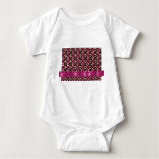 Adorable Peace Sparkle Gifts Baby Bodysuit