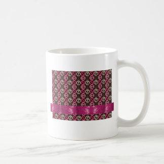 Adorable Peace Sparkle Gifts Classic White Coffee Mug