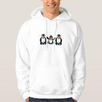 Adorable Penguin Buddies Hoodie