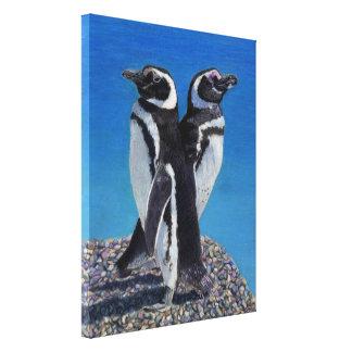 Adorable Penguin Canvas Art by Patricia Barmatz Canvas Print