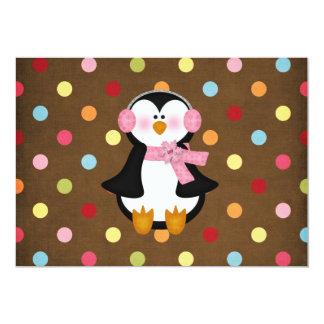 adorable Penguin Card