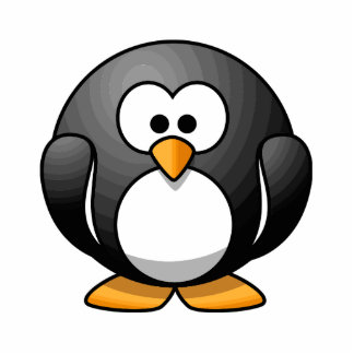 Adorable Penguin Cutout