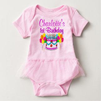 ADORABLE PERSONALIZED 1ST BIRTHDAY TUTU BABY BODYSUIT