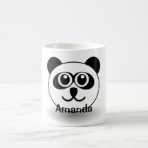 Adorable Personalized Panda Lover Mug Cup for Her