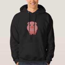 Adorable Pig Cute Pig Lovers Hoodie