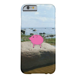 Adorable PiGgy on vacation! Barely There iPhone 6 Case