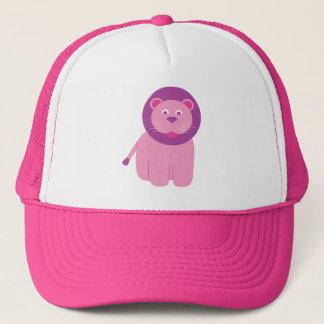 Adorable Pink Lion Trucker Hat