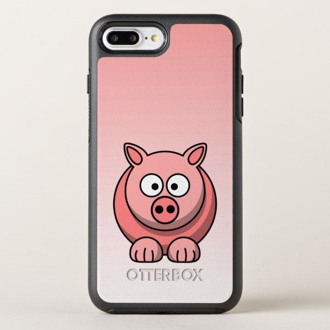Adorable Pink Pig OtterBox iPhone 8/7 Plus Case