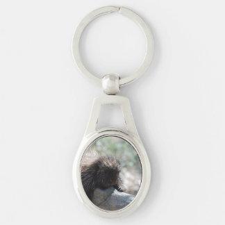 Adorable Porcupine Key Chain
