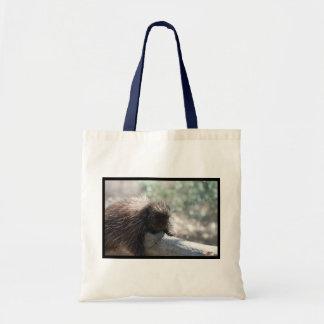 Adorable Porcupine Tote Bag