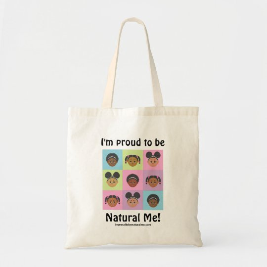 Adorable #Proud2BNaturalMe #Totebag Tote Bag