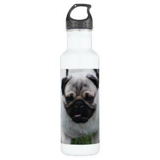 Adorable Pug 24oz Water Bottle