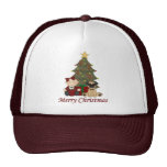 Adorable Pug and Baby Holiday tees and gifts Hat