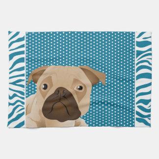 Adorable Pug Home Decor Gifts Kitchen Towel