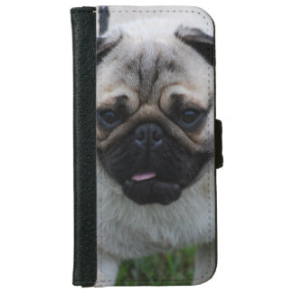 Adorable Pug iPhone 6/6s Wallet Case