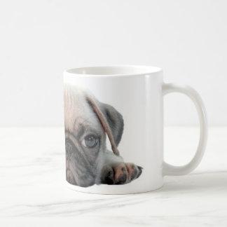 adorable pug puppy coffee mug