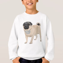 Adorable Pug Sweatshirt
