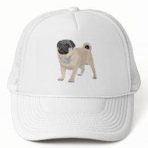Adorable Pug Trucker Hat