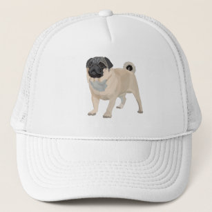 Adorable Pug Trucker Hat d81b62d91685