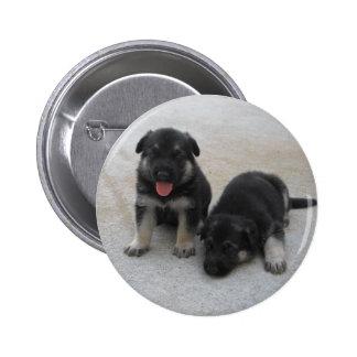 Adorable Puppy Button