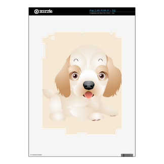 Adorable Puppy Dog multiple products selected Decals For iPad 2