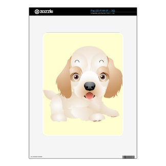 Adorable Puppy Dog multiple products selected Skin For iPad