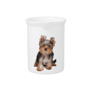 Adorable puppy drink pitcher