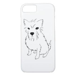 Adorable Puppy Samurai iPhone 8/7 Case