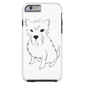 Adorable Puppy Samurai Tough iPhone 6 Case