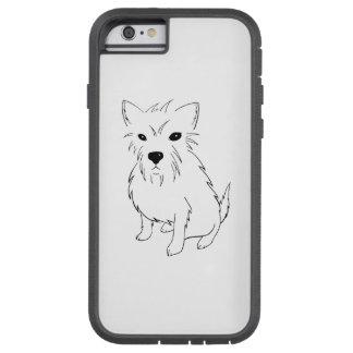 Adorable Puppy Samurai Tough Xtreme iPhone 6 Case