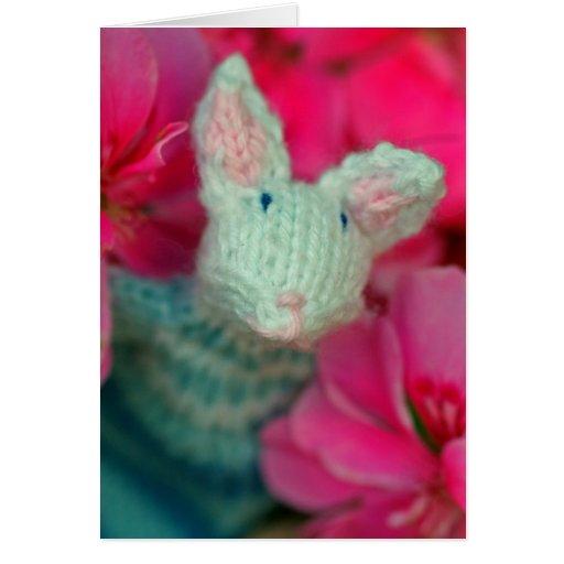 Adorable Rabbit Card