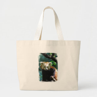 Adorable Red Panda  Canvas Tote Bag