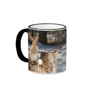 Adorable Reindeer Chipmunk Mugs